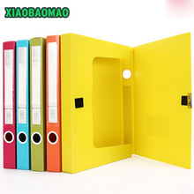 35mm/55mm Thick file box A4 data storage box filling products file folder box file color office stationery
