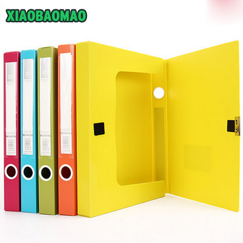 35mm/55mm Thick file box A4 data storage box filling products file folder box file color office stationery a grip a thick folder word folder a word a clips 4 inch 6 inch 9 inch