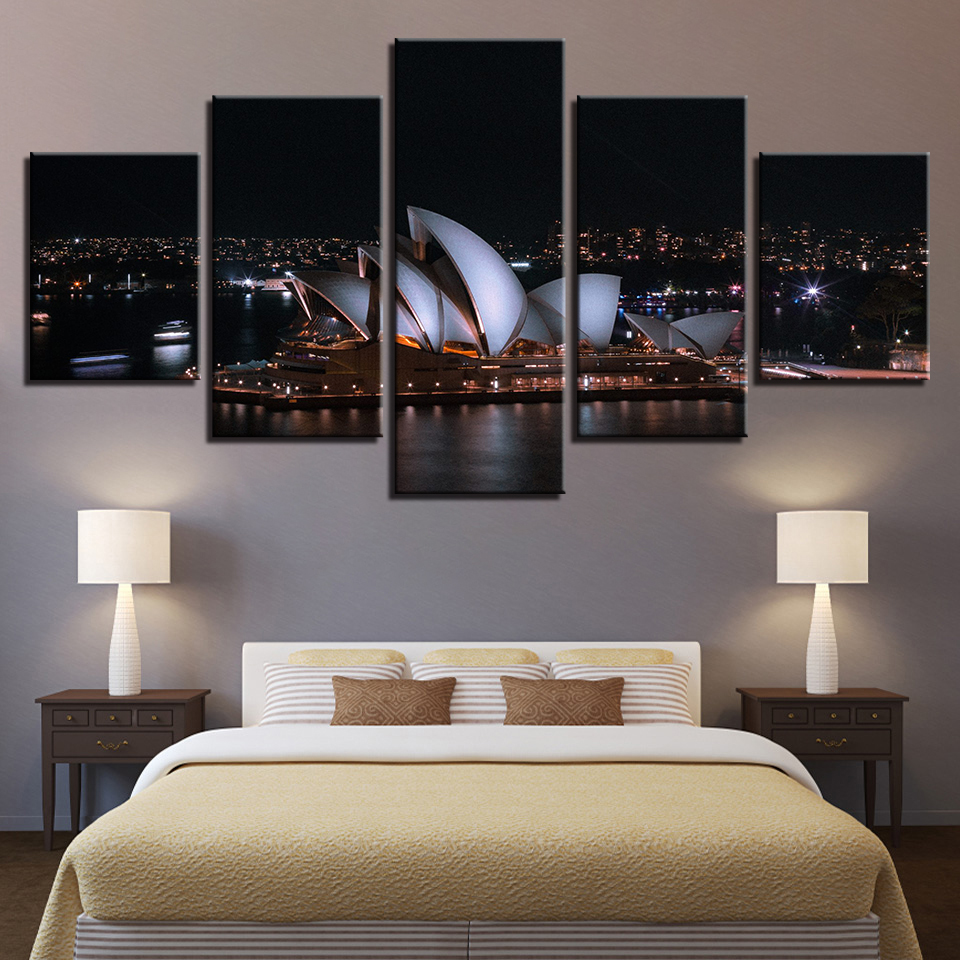 Canvas HD Prints Poster Home Decor Pictures Framework 5