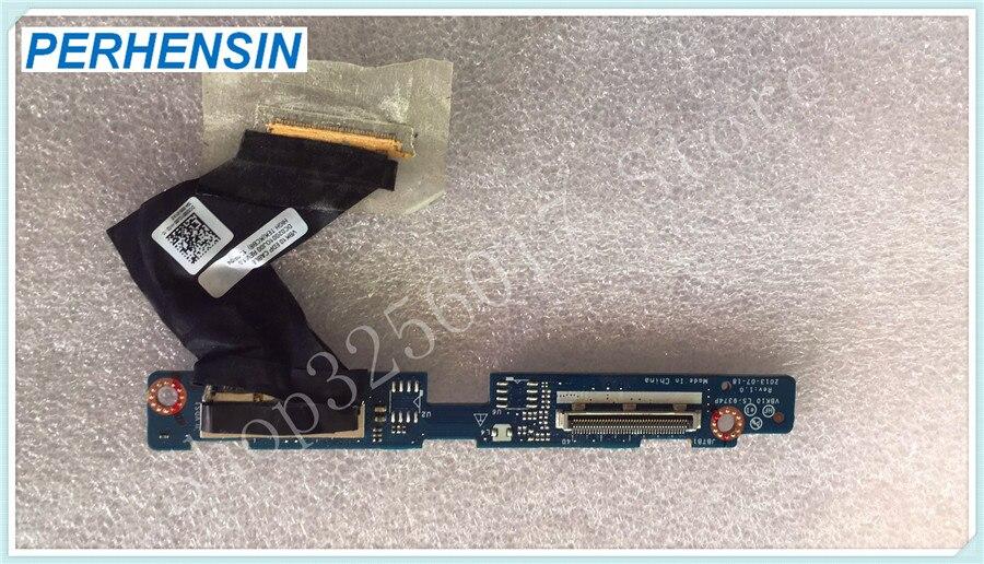 PARA HP ZBook 17 LVDS Placa de Sinalização LS-9374P w cabo DC02001OJ00