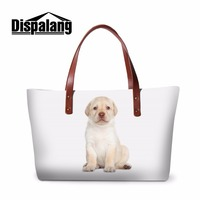 Dispalang Designer Ladies Animal Handbags Female Large Capacity Tote Bag Women Summer New Beach Bag Dog Cross Body Bag Side Bag