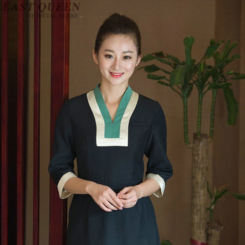 Spa uniform for beauty salon beautician massage uniforms clinical nurse uniform woman clothing medical scrubs uniform DD1334