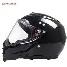 Полный мотоциклетный шлем профессиональный гоночный шлем мотоциклетный взрослый мотокросса внедорожный шлем DOT утвержден