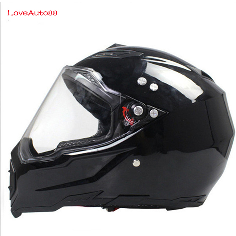 Full Face Motorcycle Helmet Professional Racing Helmet  motorcycle Adult motocross Off Road Helmet DOT Approved-in Helmets from Automobiles & Motorcycles