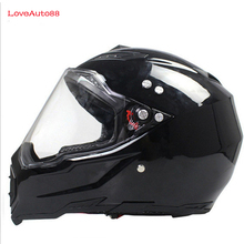 Full Face Motorcycle Helmet Professional Racing Helmet  motorcycle Adult motocross Off Road Helmet DOT Approved