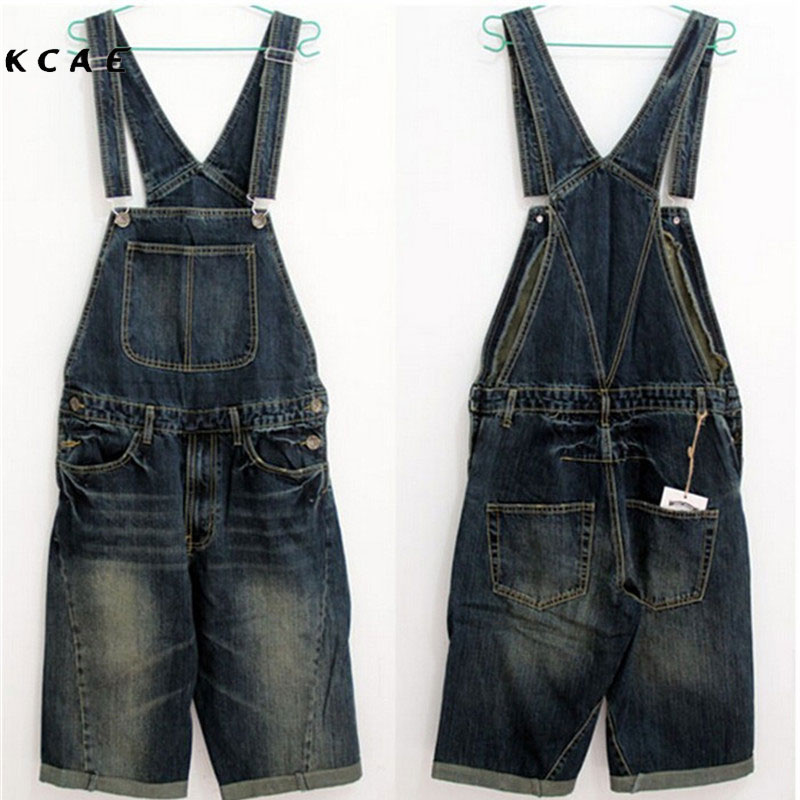 2017 New Men's Denim Overalls, Men Siamese Jeans, Men's Overalls Shorts, Denim Bib Plus Size S,M,L,XL,2XL,3XL,4XL men s bib jeans 2016 new casual front pockets blue denim overalls boyfriend jumpsuits male suspenders jeans size m xxl