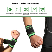 Sports Fitness Weightlifting Wrapped Wrist Guard Basketball Volleyball Pressure Breathable Bandage Guards XL