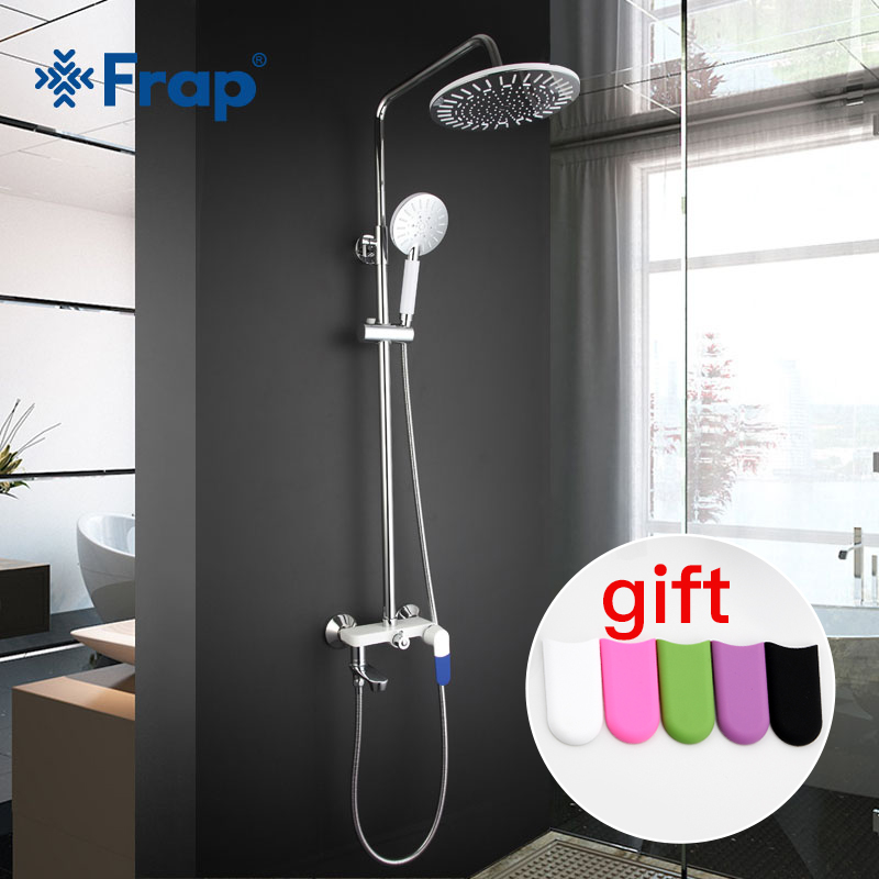 Bathroom Fixtures Objective Frap Bathtub Faucets Bathroom Waterfall Shower Head Set Mixer Bathroom Shower Faucet Rain Shower Panel Bath Faucet Tap