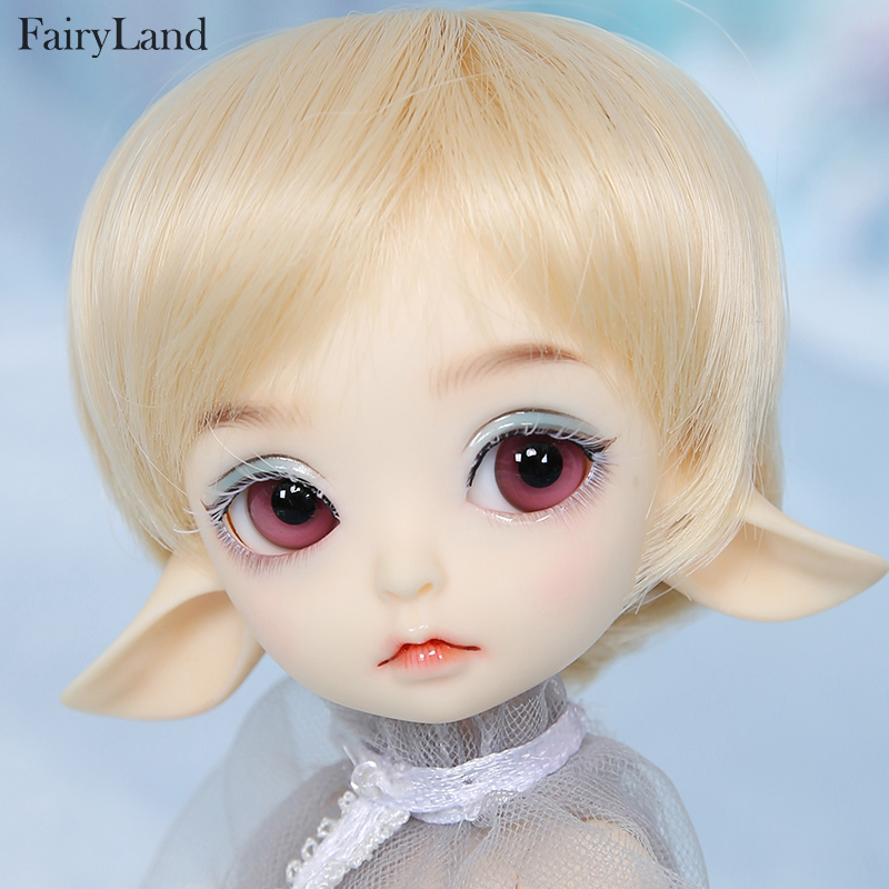 Realfee Luna 19cm Fairyland bjd sd doll fullset lati tiny luts 1 7 body model High