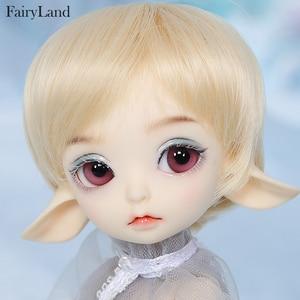 Image 1 - Realfee Luna 19cm Fairyland bjd sd doll fullset lati tiny luts 1/7 body model  High Quality toys  shop ShugoFairy wigs Mini doll