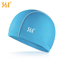 361 Breathable Swimming Caps for Pool Men Women Adult Swimming Hat Ear Protection Long Hair Water Sports Swim Caps Swimwear 2018 mix color flower women swimming cap for long hair ear protection swim caps lady womens girls swimwear pool hat large size