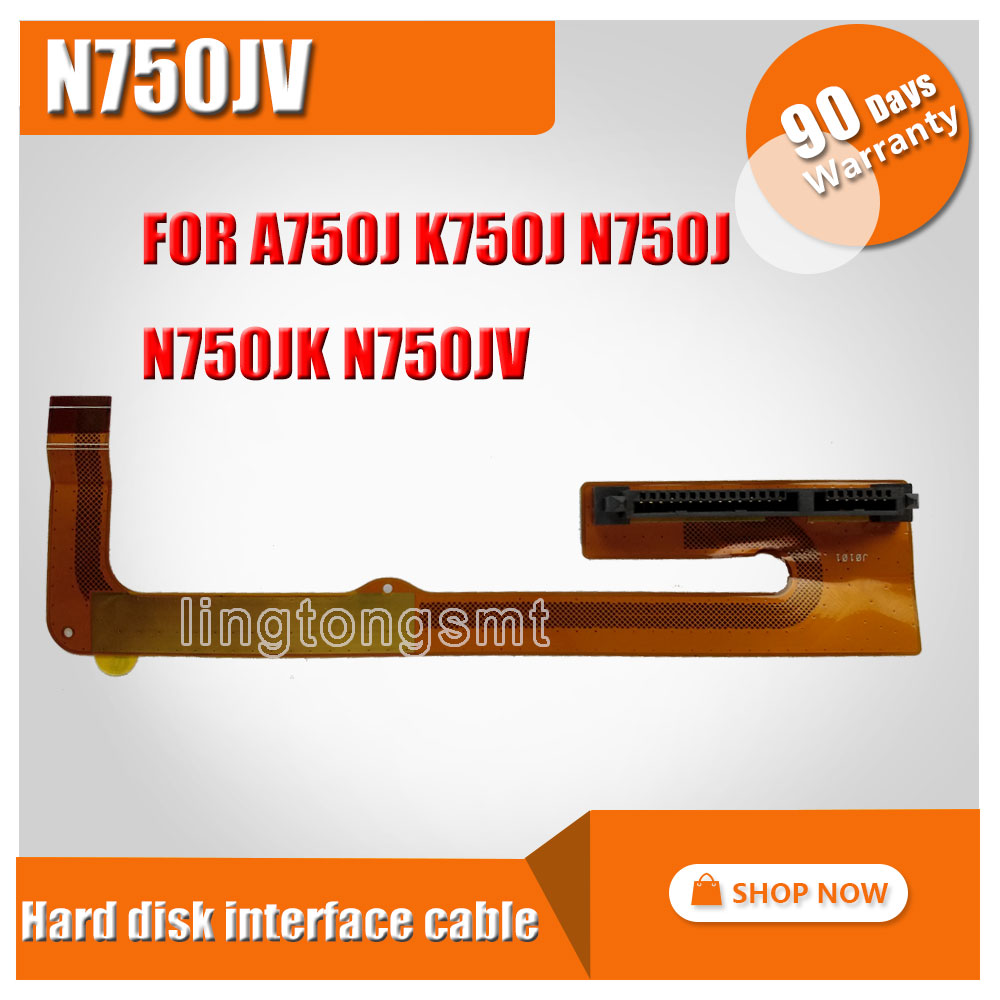 Original FOR ASUS A750J K750J N750J N750JK N750JV HDD2-FPC With hard disk interface asus z97 a