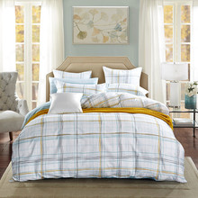 4pcs/set Bedding Set Duvet Cover Sheet Pillow Case 100% Cotton Modern Nordic Simple Urban Style 2 Size L/XL