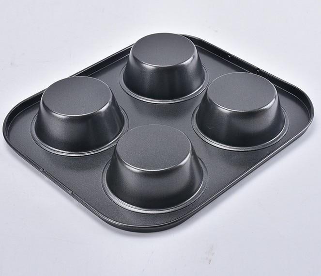 1 ADET Yapışmaz Karbon Çelik 4 Bardak Bahar Formu Pasta / Kek / - Mutfak, Yemek ve Bar - Fotoğraf 2