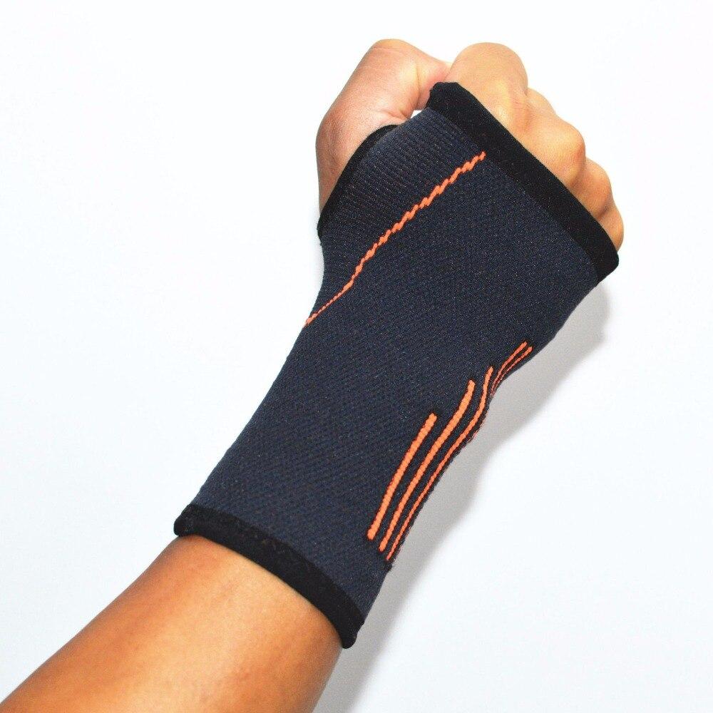1pcs Professional Lengthen wristband sports safety Gym carpal tunnel badminton tennis wrist wraps bandage brace support