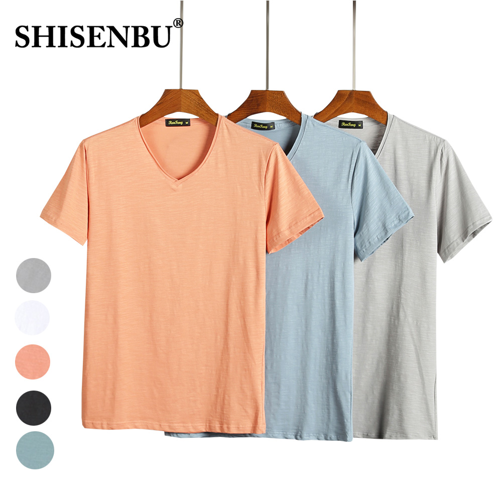 Bamboo Fiber cotton t shirt men t-shirt high quality short sleeve summer mens tshirt fashion white tee shirt homme brand clothes (3)