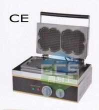 Бесплатная доставка Электрический фантазии вафельный машина булочки машина вафельница с CE сертификация