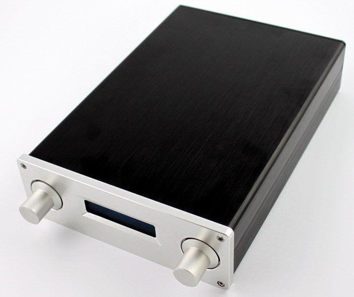 WA8 tout en aluminium décodeur Audio boîtier Mini DAC boîtier bricolage châssis pour AK4118 carte DAC 275*190*65 MM