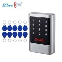 Hot selling metal housing touch screen door controller for single door lock access control|Control Card Readers|   -
