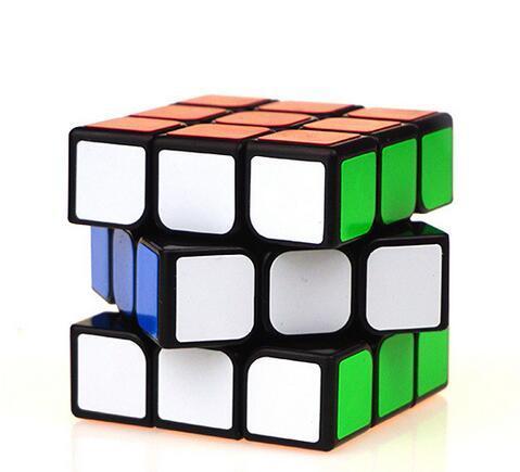 Классические игрушки Кубик-антистресс 3x3x3 ПВХ Стикеры блок головоломки Скорость Cube красочный обучения и образовательные головоломка Cubo ...