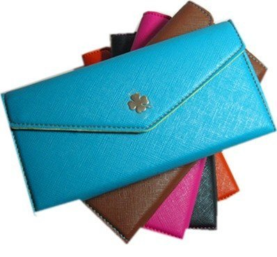Free Shipping, Women Wallets Long Style PU Leather Purse & Card Holders for Ladies Wholesale, Promotion wallet
