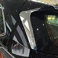 ABS хромированные аксессуары для Toyota Highlander Kluger 2014-2018 автомобильный Стайлинг задние окна столб Спойлеры чехол с крыльями отделка