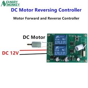 Image 3 - 433 Mhz 무선 RF 스위치 DC12V 릴레이 수신기 모듈 및 DC 모터 정방향 및 역방향 컨트롤러 용 433 Mhz 원격 제어