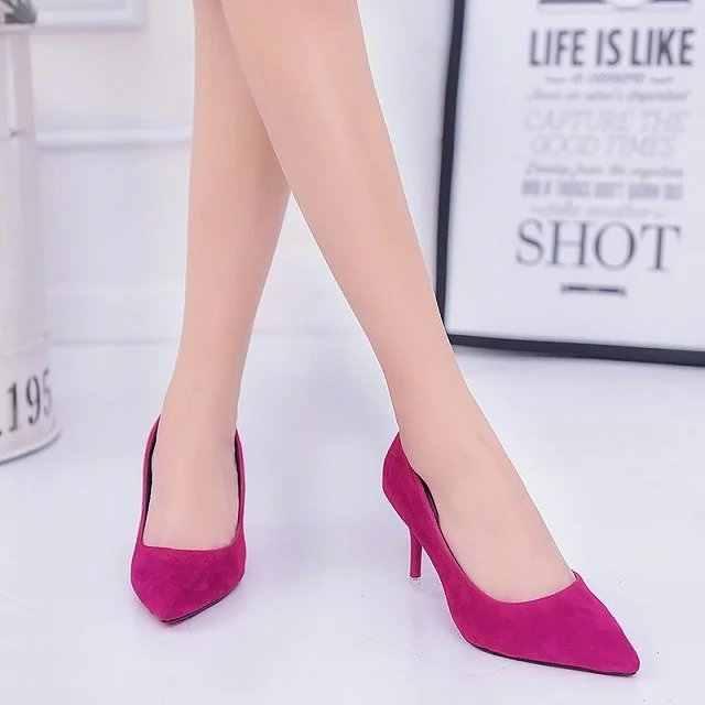 Plus Size 35-42 hoge hakken Lakleer Jurk Schoenen Wit Weddinge Schoenen Classics Pompen Zwart Bootschoenen Dames zapatos mujer