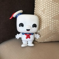Original Imperfect 6'' Funko pop Stay Puft Marshmallow Ghostbusters Over Sized Vinyl Action Figure Collectible Model Toy No box