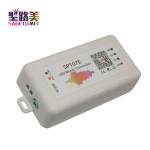 Light-Tape Led-Controller 2812 Music Bluetooth 2811 SP107E Control-By-Phone-App Full-Color