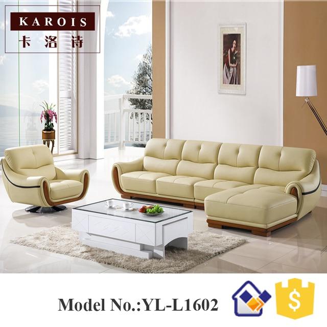 Fauteuil mobilier de salon en cuir meubles de salon canapé ensemble