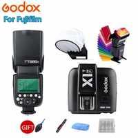 Godox TT685 TT685F Вспышка Speedlite 2,4 г Беспроводной HSS ttl GN60 + X1T-F триггерный передатчик для цифровой фотокамеры Fuji X-Pro2 X-T20 X-T1 X-T2