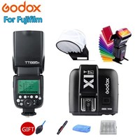 Godox TT685 TT685F Flash Speedlite 2.4G Wireless HSS TTL GN60 + X1T F Trigger Transmitter Kit for Fuji X Pro2 X T20 X T1 X T2
