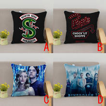 OHCOMICS 40*40CM Otaku RIVERDALE Cushion Dakimakura Pillow Case Slip Pillow Tick Cover Costume Car Home Decor Ornament Gifts(China)