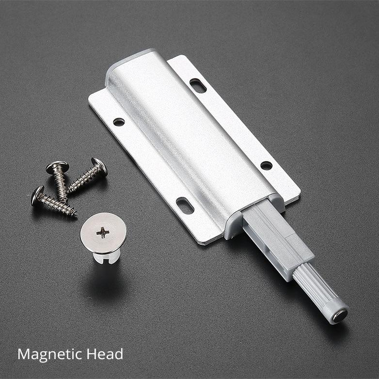 El armario magn/ético fuerte de la puerta de gabinete magn/ético del acero inoxidable se captura para la puerta del armario del gabinete