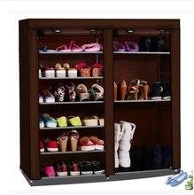 Simple shoe boots models Cheap hostel assembled large capacity double rack simple