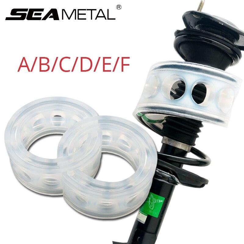 Auto amortiguadores amortiguador primavera parachoques Auto cubierta de goma proteger en la primavera de automóvil suspensión amortiguadores de tipo B