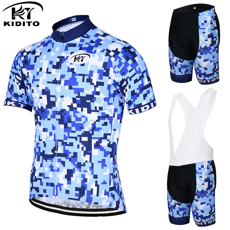 ФОТО KIDITOKT Florr 2017Short Sleeve Summer Pro Cycling Jersey Set Racing Bike Sportswear Bicycle Clothing Maillot Ropa Ciclismo