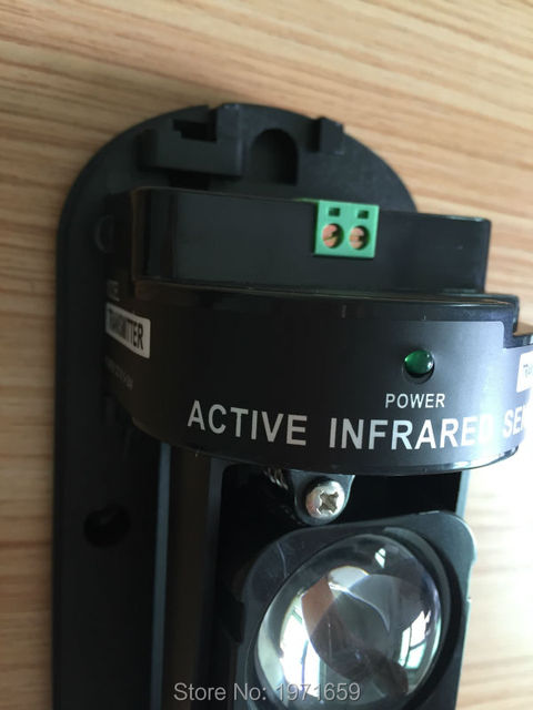 Detector 80M IR beam detector / Outdoor IR Sensor  Dual Beam Infrared For Alarm