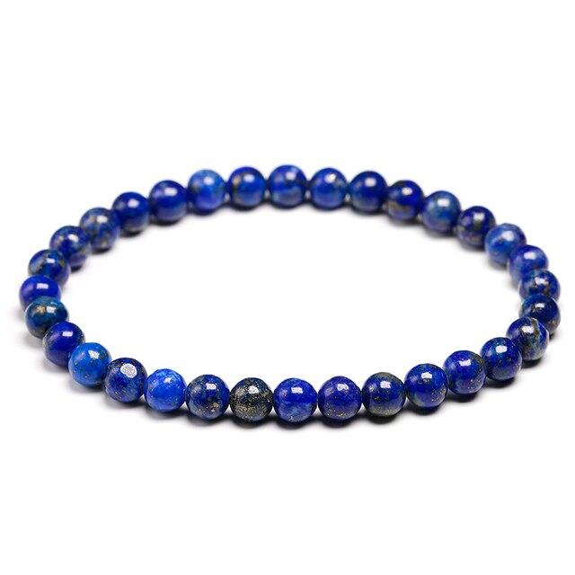 Bracelet Pierres Porte-Bonheur Lapis Lazuli 6mm
