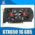 Nvidia Geforce видеокарта Оригинальный GTX650 1 ГБ GDDR5 128BIT для nVIDIA КОМПЬЮТЕРНЫХ игр