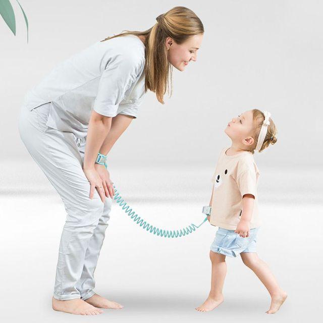 1.5M 2M 2.5M Adjustable Kids Safety Child Wrist Leash Anti-lost Link Children Belt Walking Assistant Baby Walker Wristband 3