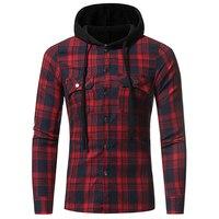 Men Shirts 2017 New Fashion Brand Long Sleeve Shirt Flannel Men S Plaid Shirts Casual Camisa
