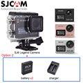 Sjcam sj6 lenda 4 k wifi câmera de vídeo de ação dupla remoto sem fio tela de 2.0 toque lcd esporte camcorder dv + bateria extra + carregador