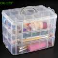 30 Grids Plastic Storage Box Portable Detachable Home Organizer Transparent Makeup Organizer porta joias