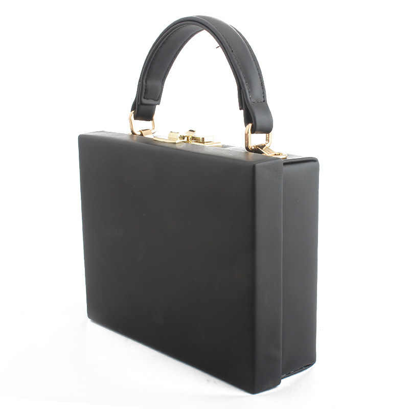 Women Leather Box Bag High Quality Shoulder Handbags Luxury Crossbody Bags Evening Bags Box Clutch Wedding bridal party handbag