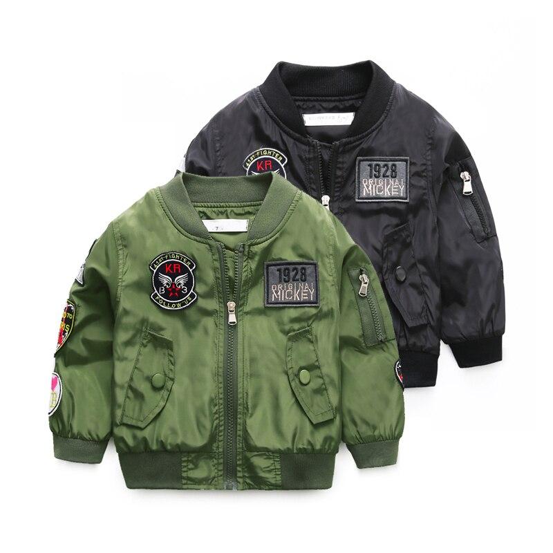 Boys Flight Jacket Promotion-Shop for Promotional Boys Flight ...