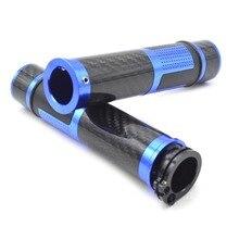 Для Универсальный 22 мм 7/8 «мотоцикл скутер ЧПУ руль Мотоцикла Резиновой Ручкой Бар Ручные Захваты Для VERSYS (650cc) NINJA 400R