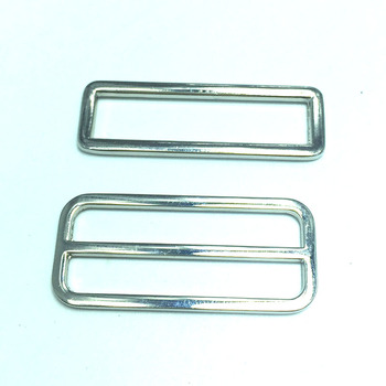 40PCS 2 INCH (Fit for strap) Oval Slide Buckle Findings