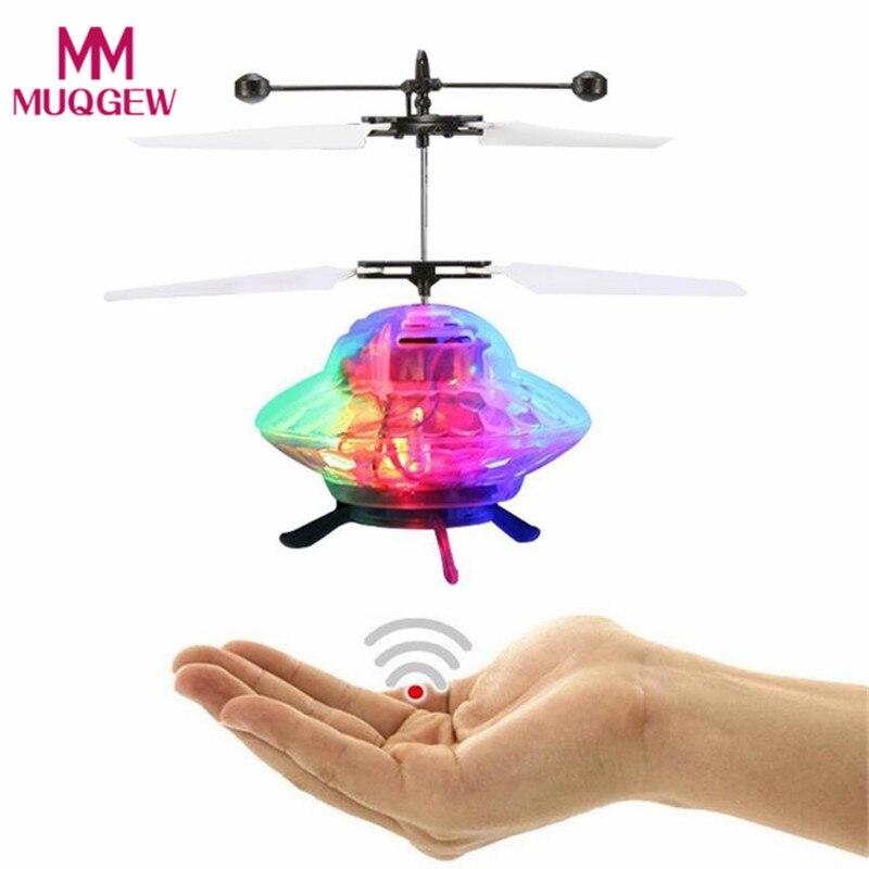 Kinder Mini Induktions Drohne UFO Fliegen Flugzeuge RC Drohne Spielzeug Geschenk